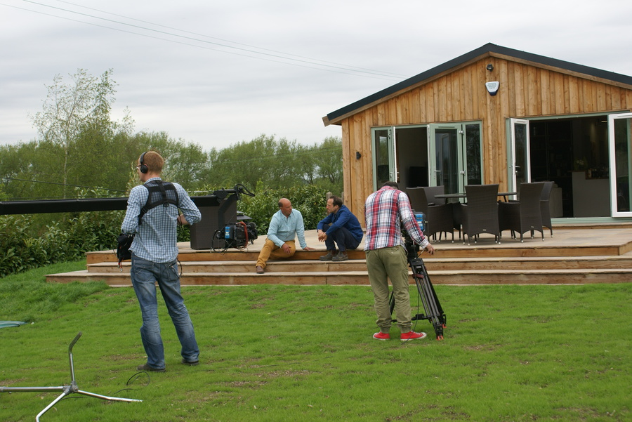 Riverways farm bbc2s 100k house for Build a house for 100k
